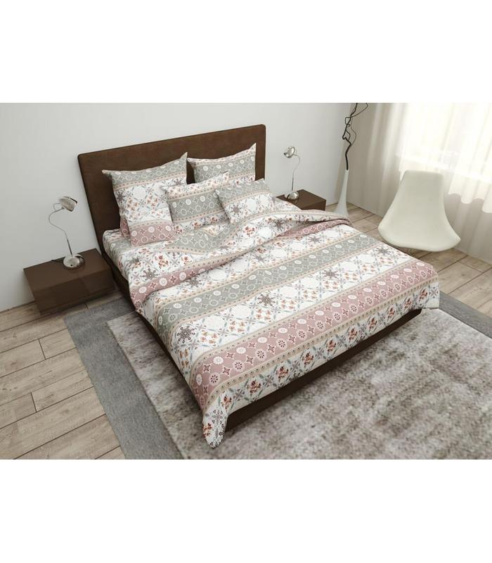 Комплект постельного белья Орнамент ᗍ бязь, Украина, натуральная ткань