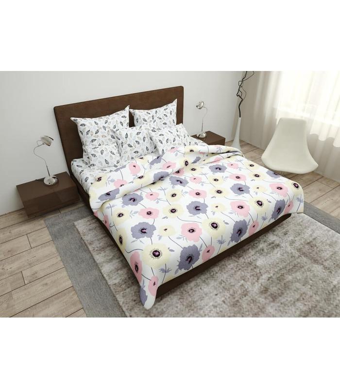 Комплект постельного белья Нинель ᗍ бязь, Украина, натуральная ткань