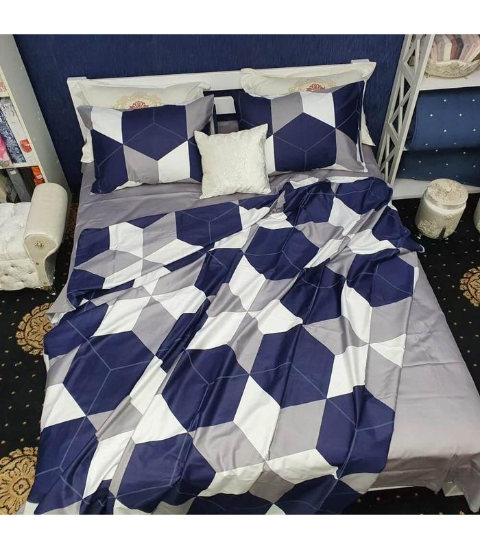 Комплект постільної білизни Остін ᗍ сатин Люкс ※ Україна, натуральна тканина
