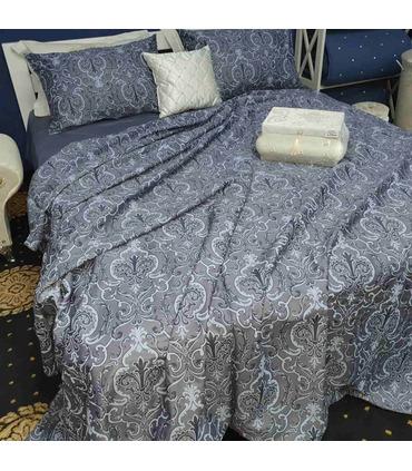 Комплект постільної білизни Крістоф ᗍ сатин Люкс ※ Україна, натуральна тканина