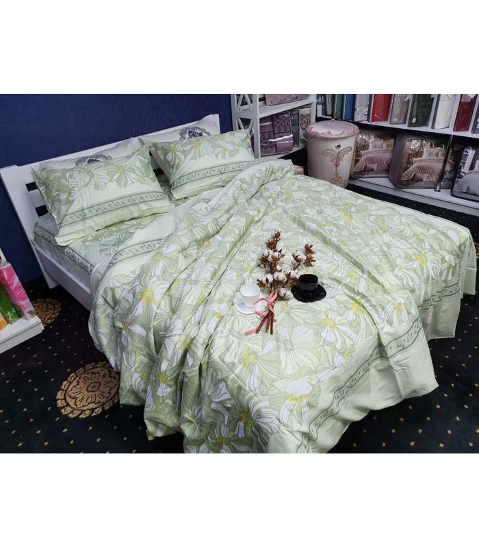 Комплект постельного белья Lili ᗍ сатин Люкс ※ Украина, натуральная ткань