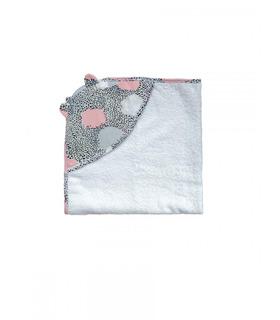 Махровое полотенце-уголок м.191112 WI