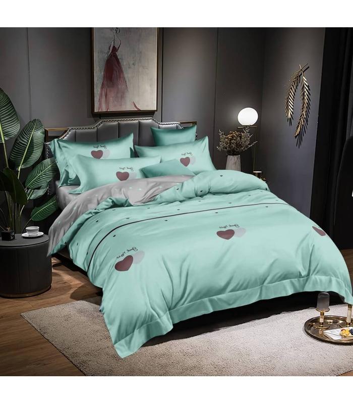 Комплект постельного белья Флер ᗍ сатин ※ Украина, натуральная ткань