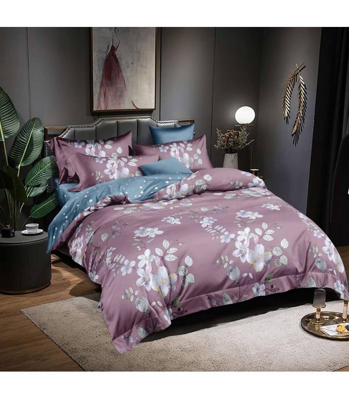 Комплект постельного белья Марсель ᗍ сатин ※ Украина, натуральная ткань