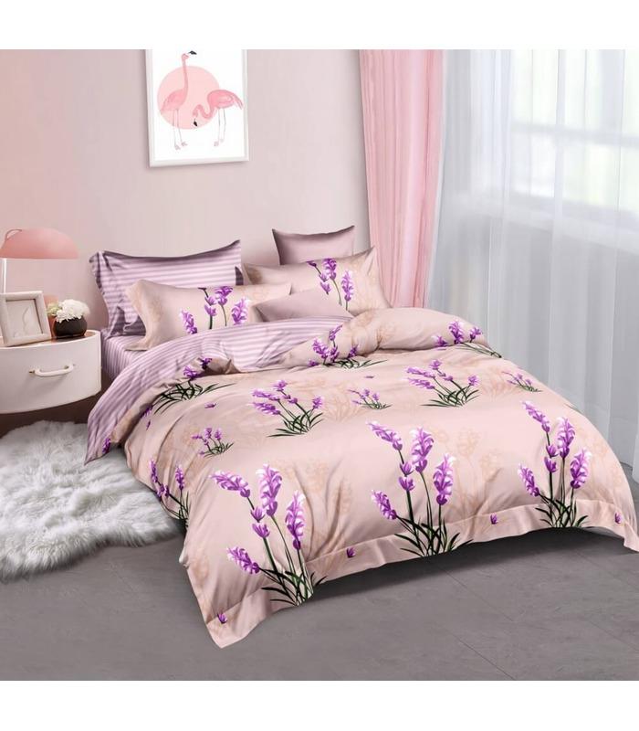Комплект постельного белья Сьюзи ᗍ сатин ※ Украина, натуральная ткань