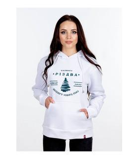 Женское худи Рождественская Ёлка мод.610