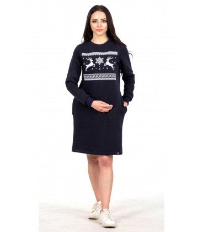 Вишита сукня Різдвяне Диво мод.604