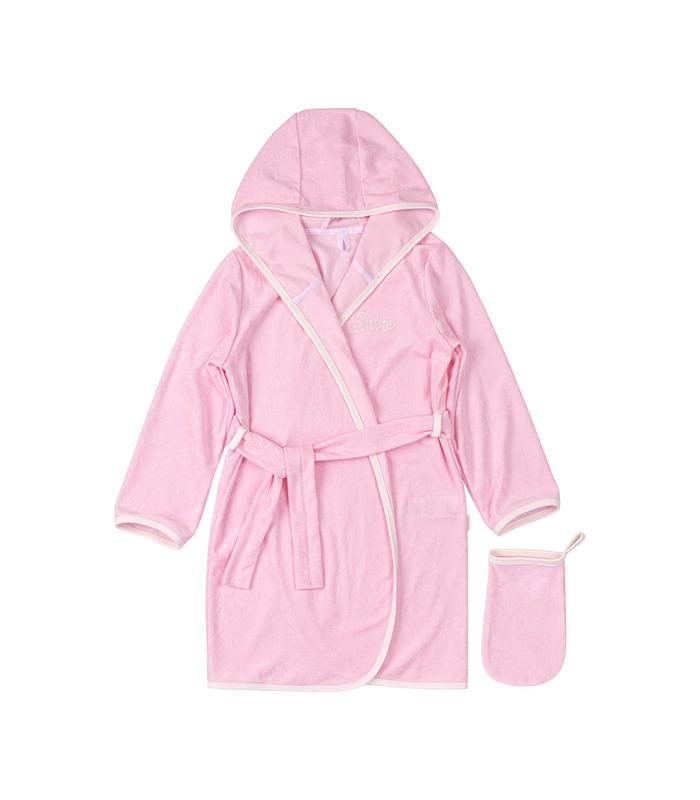 Комплект халат+мочалка КП256 RO