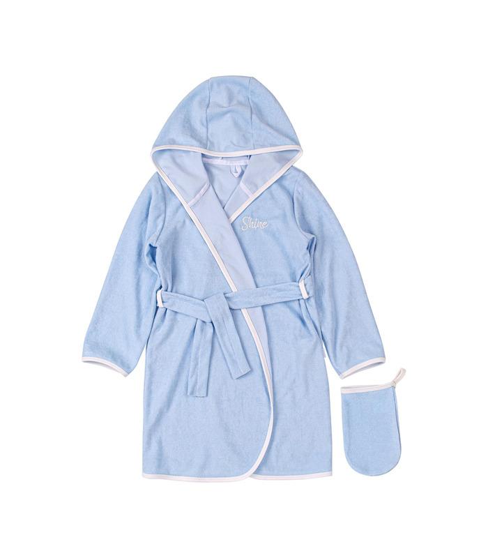 Комплект халат+мочалка КП256 BB