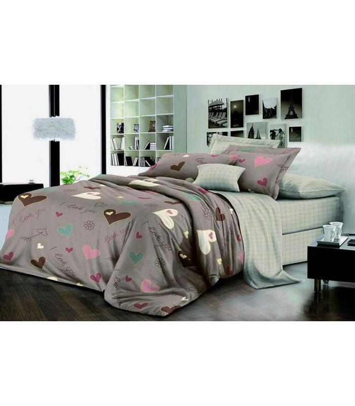 """Комплект постельного белья """"Лакки"""" ᐉ ранфорс, хлопок, возможен индивидуальный пошив"""