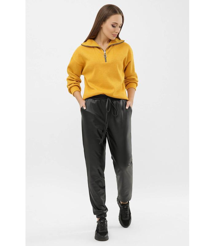 Джоггери Віллі К, теплі штани з екошкіри