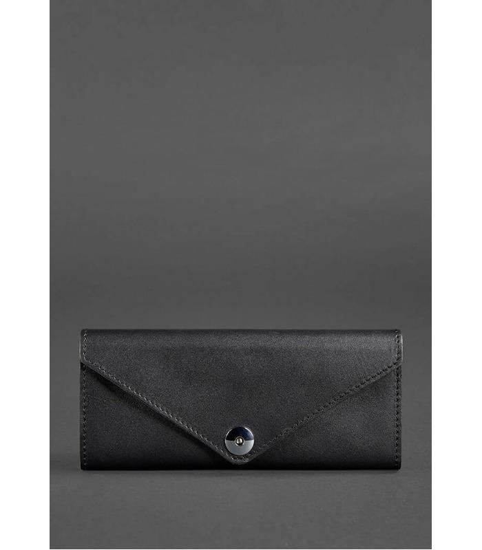 Купити гаманець 1.0 Графіт з натуральної шкіри на МамаТато