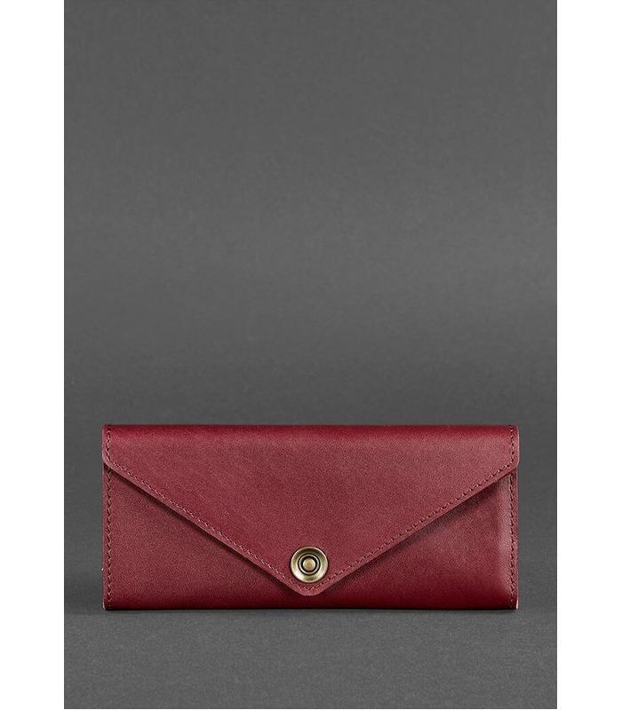 Шкіряний гаманець 1.0 Виноград ᐉ Жіночий гаманець з натуральної шкіри на МамаТато