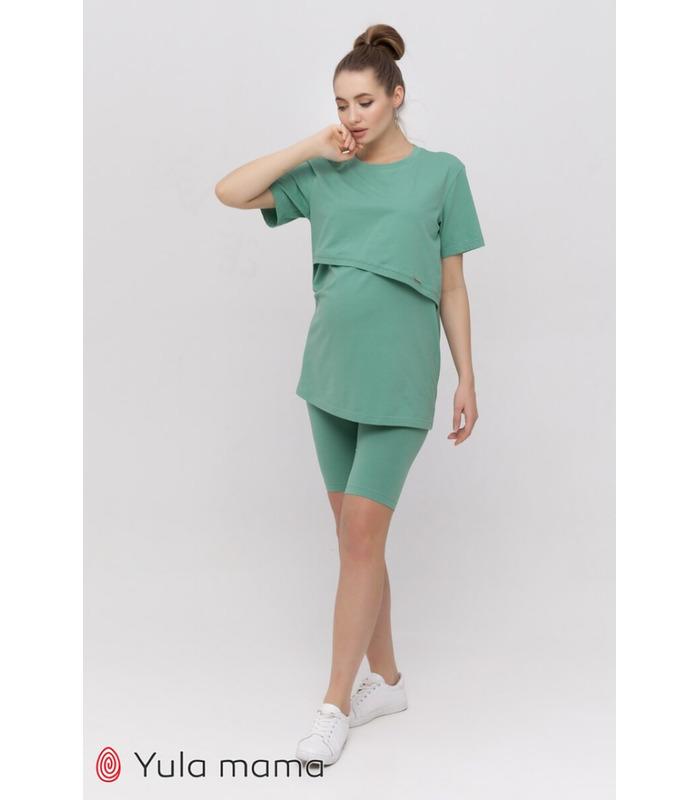 Костюм Алекса GR, зеленый костюм беременным