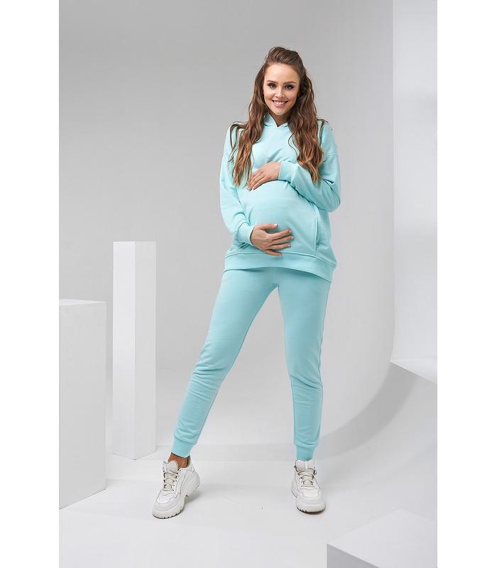Костюм Весна-1, весняний м'ятний костюм вагітним та годуючим