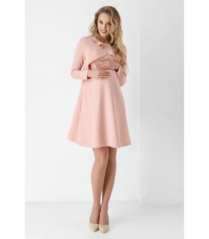 Сукня Грета PP, плаття з воланами вагітним та годуючим