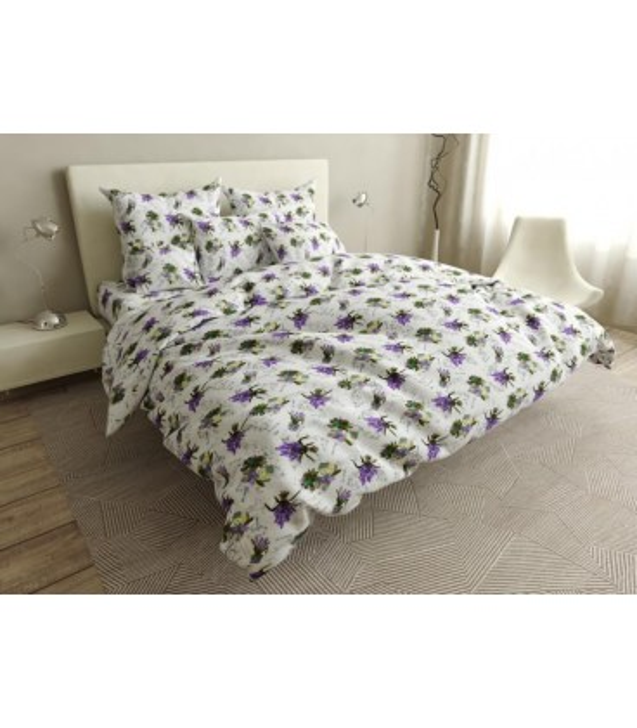 Комплект постельного белья Lavanda ᗍ бязь, Украина, натуральная ткань