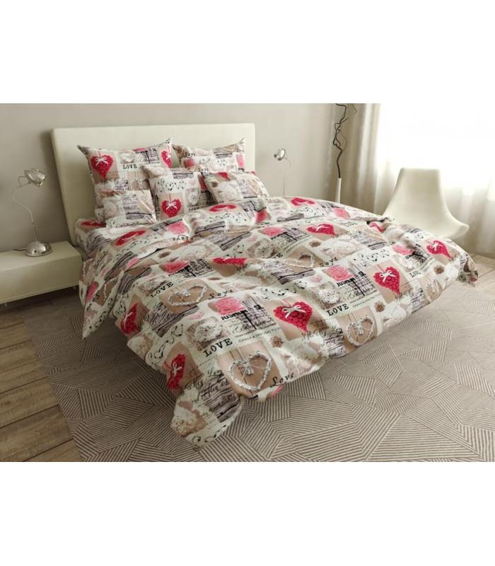 Комплект постельного белья Лайк ᗍ бязь, Украина, натуральная ткань