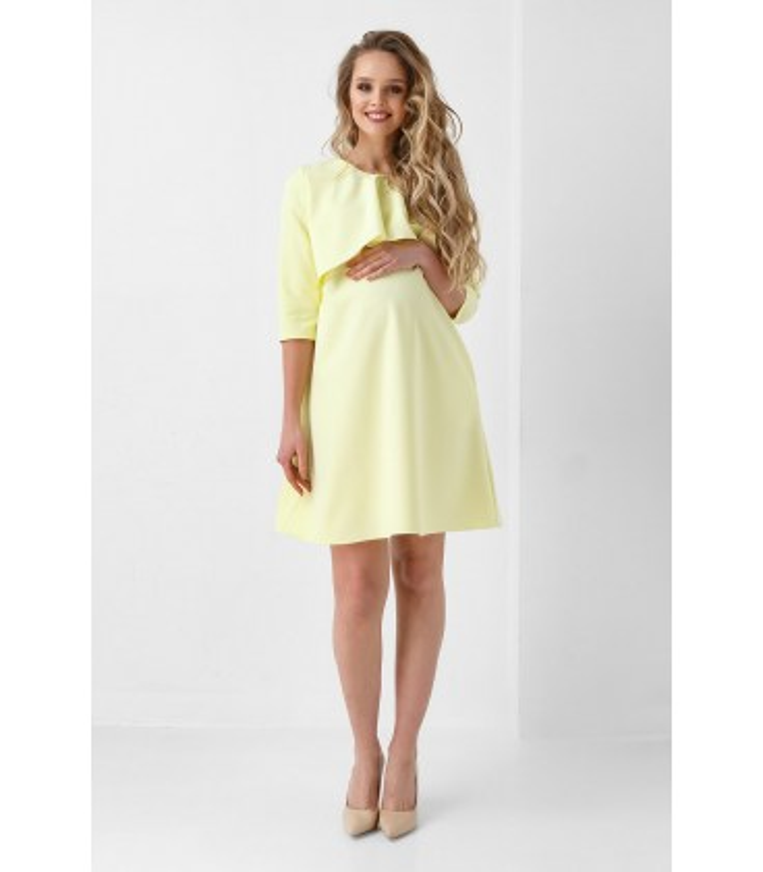 Сукня Джоан, жовте нарядне плаття вагітним і годуючим