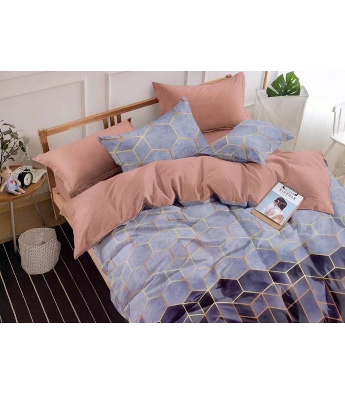 Комплект постельного белья Кристалл ᗍ сатин ※ Украина, натуральная ткань