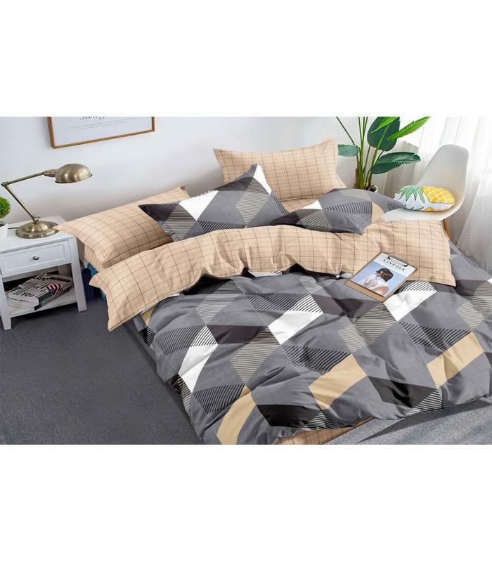 Комплект постельного белья Alan ᗍ сатин ※ Украина, натуральная ткань