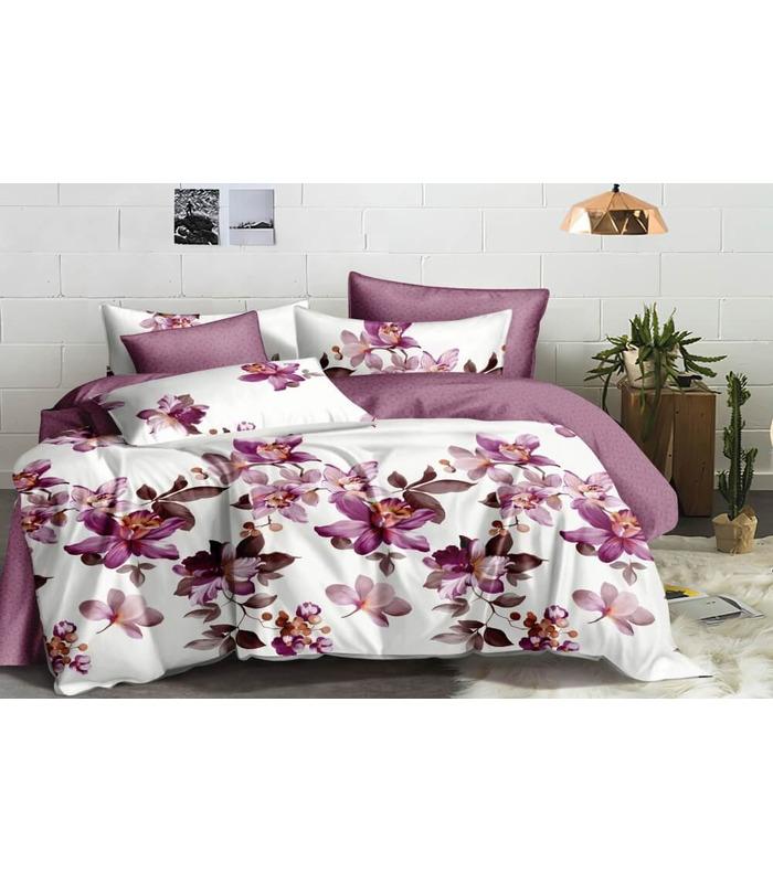 Комплект постельного белья Фантазия ᗍ сатин ※ Украина, натуральная ткань