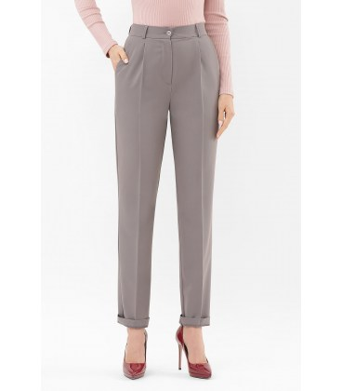 Брюки Мірей GR, сірі жіночі брюки