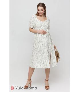Платье Федерика MI, платье с рукавами-буфами беременным и кормящим