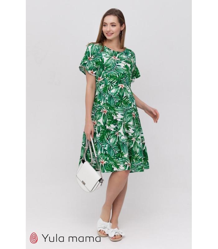 Сукня Аннабель TR, літнє плаття з принтом вагітним та годуючим