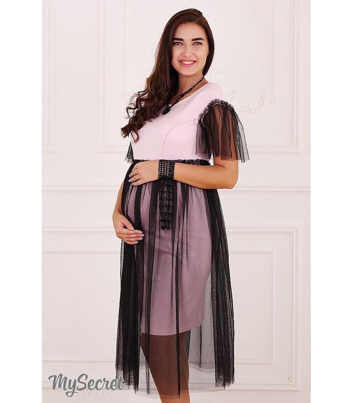 Платье Дороти, нарядное платье с фатином беременным и кормящим
