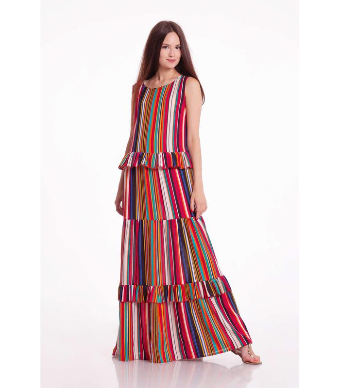 Платье Чили Полоска