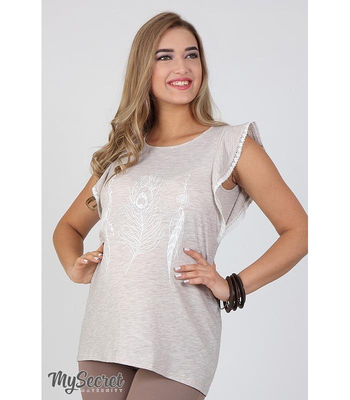Блуза Жаклин Перышко Беж
