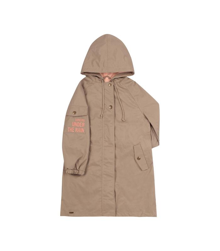 Куртка дитяча КТ250, куртка-парка для дівчинки
