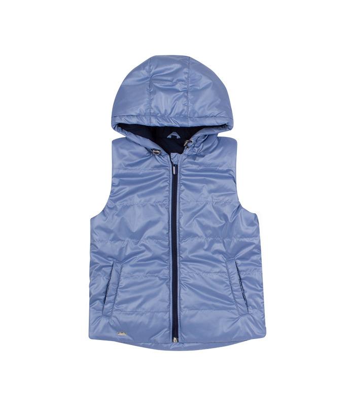 Жилет детский ЖЛ45 BK, голубая детская жилетка
