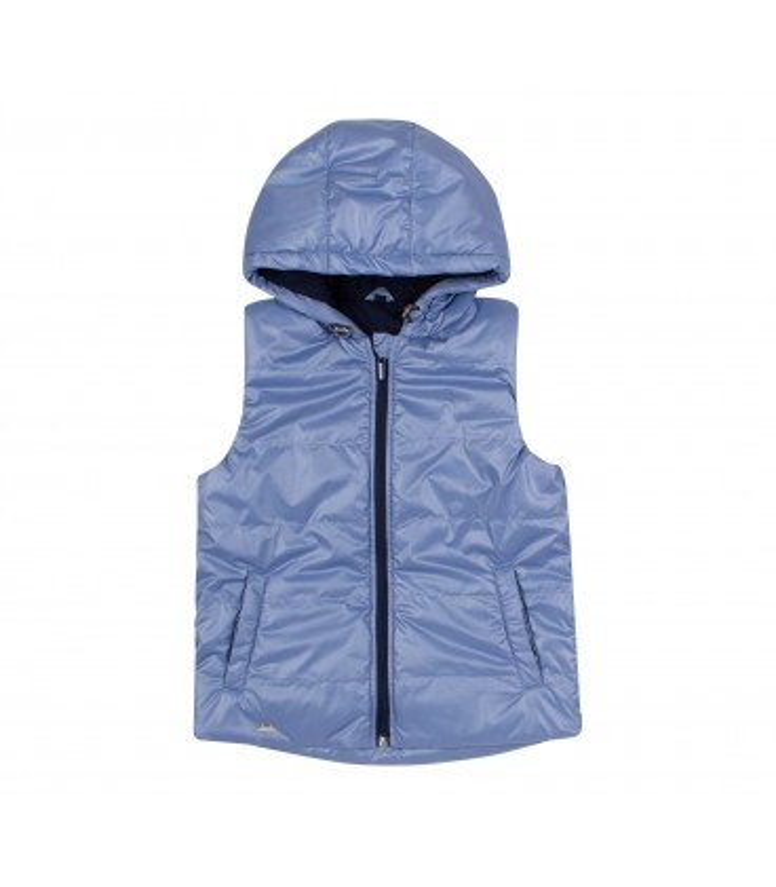 Жилет дитячий ЖЛ45 BK, блакитна дитяча жилетка