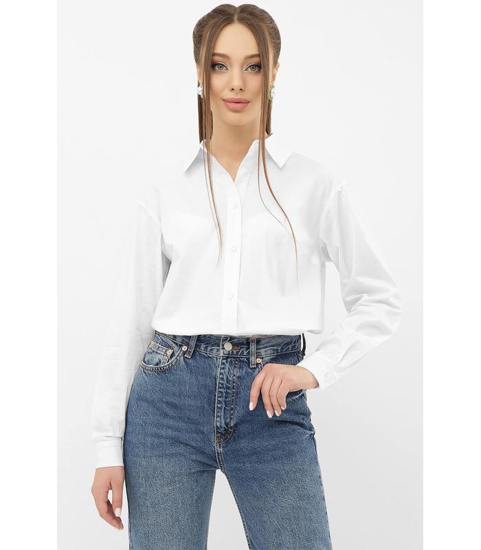 Блуза Пайра WH, біла жіноча сорочка