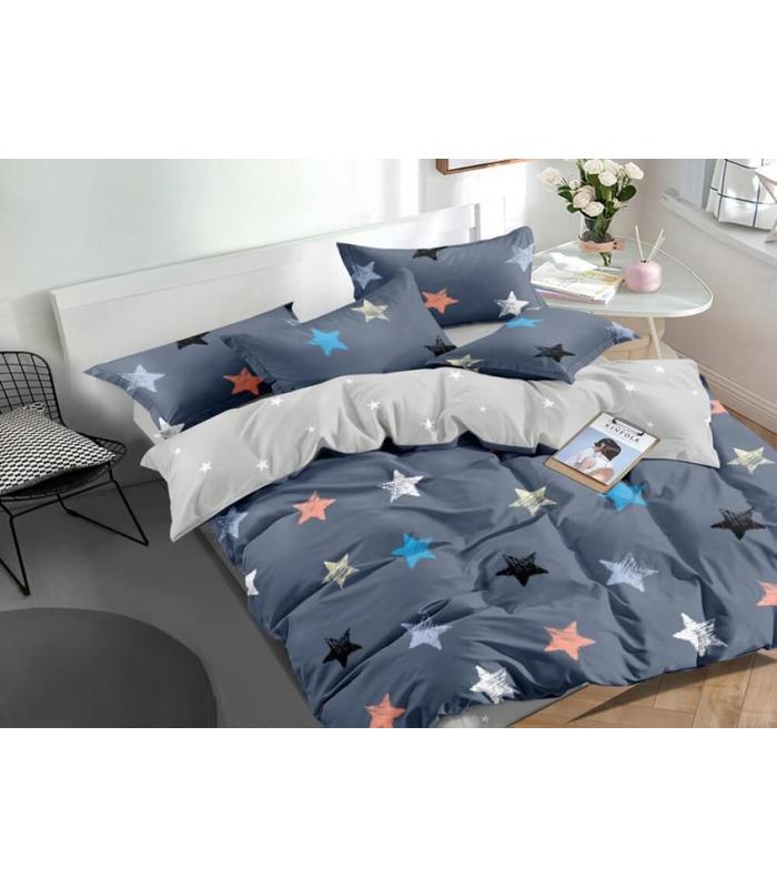 Комплект постельного белья Singl ᗍ сатин ※ Украина, натуральная ткань