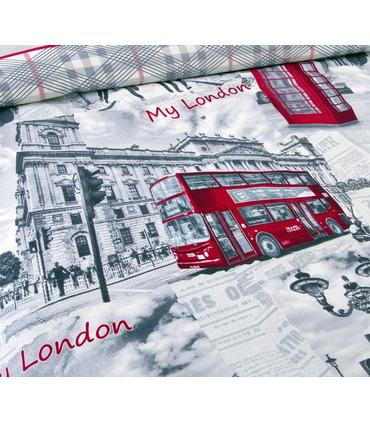 """Постільна білизна """"London"""" ᐉ перкаль, виробник Україна, натуральна тканина"""