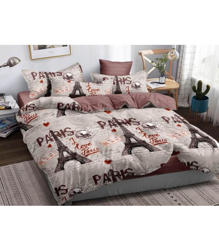 Комплект постельного белья Paris ᗍ сатин ※ Украина, натуральная ткань