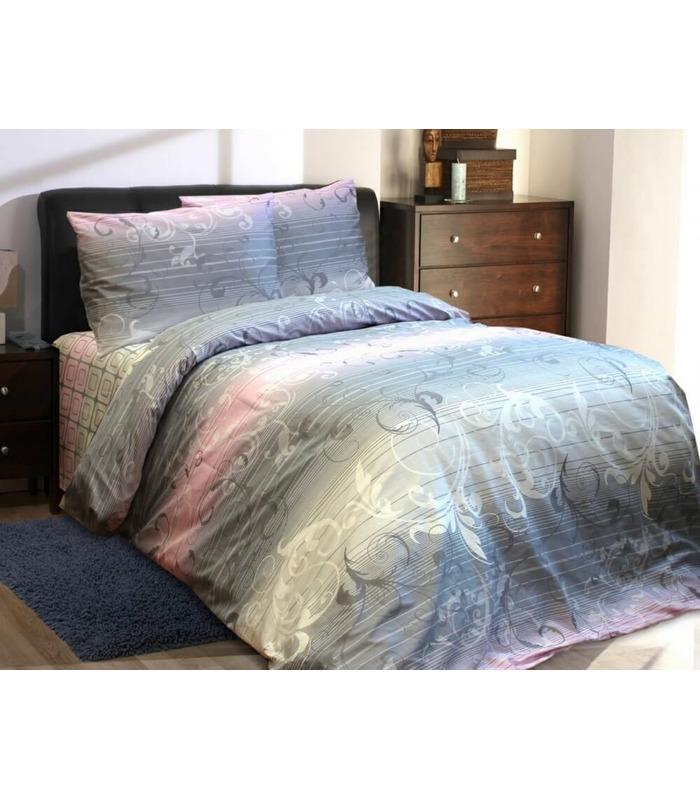 Комплект постельного белья Жаккард MIX ᐉ бязь белорусская, Украина