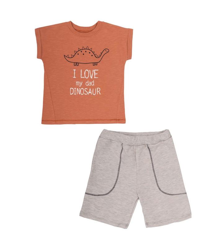 Комплект дитячий КП248 TE, дитячий костюм з шортами