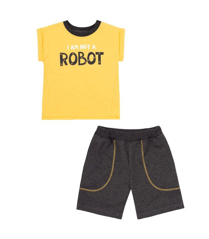 Комплект дитячий КП248 YE, літній костюм хлопчику