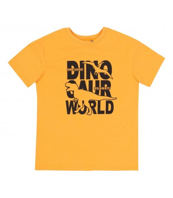 Футболка дитяча ФБ805 YE, футболка з динозавром