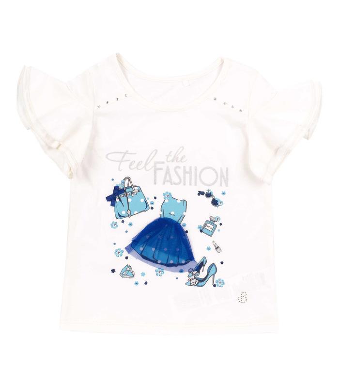 Футболка дитяча ФБ743, дитяча футболка з аплікацією