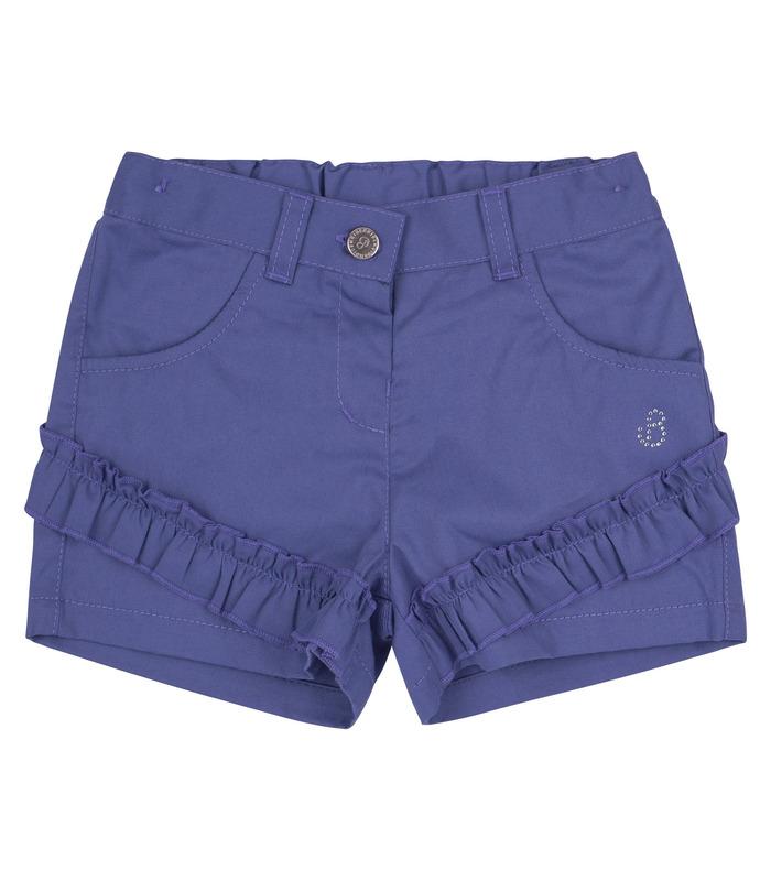 Шорты детские ШР622, детские шорты с рюшами