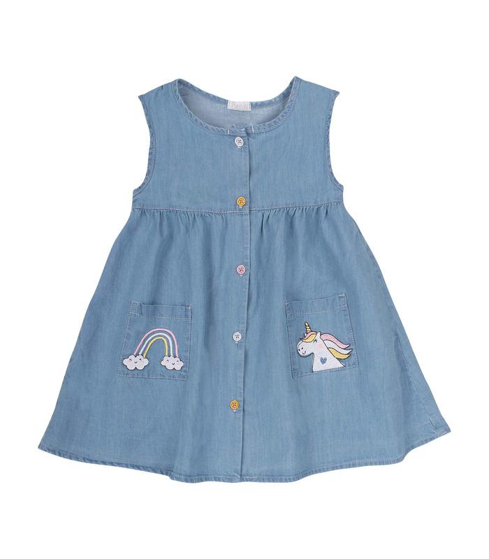 Сукня дитяча ПЛ310 RO, джинсова сукня дівчинці