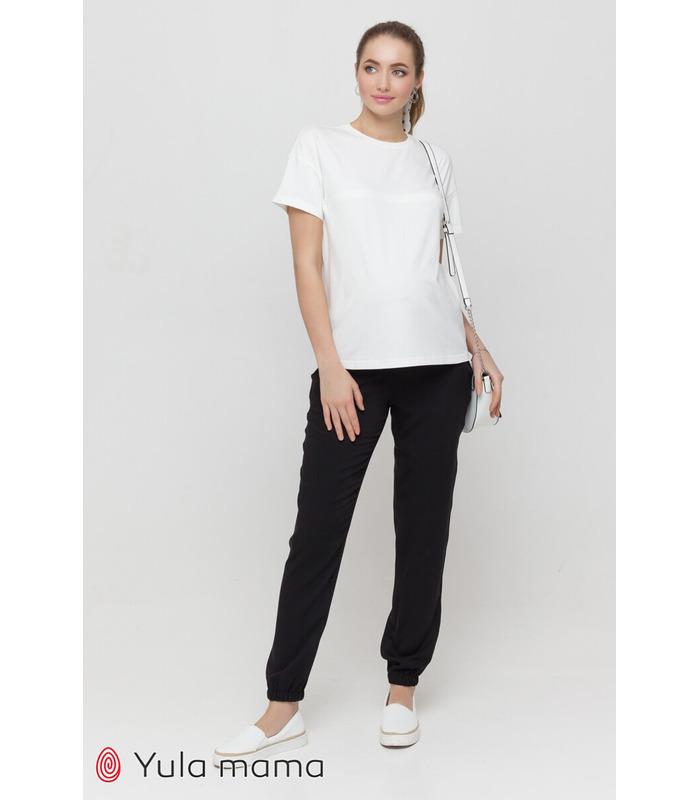 Штани Біом CH, чорні легкі штани для вагітних