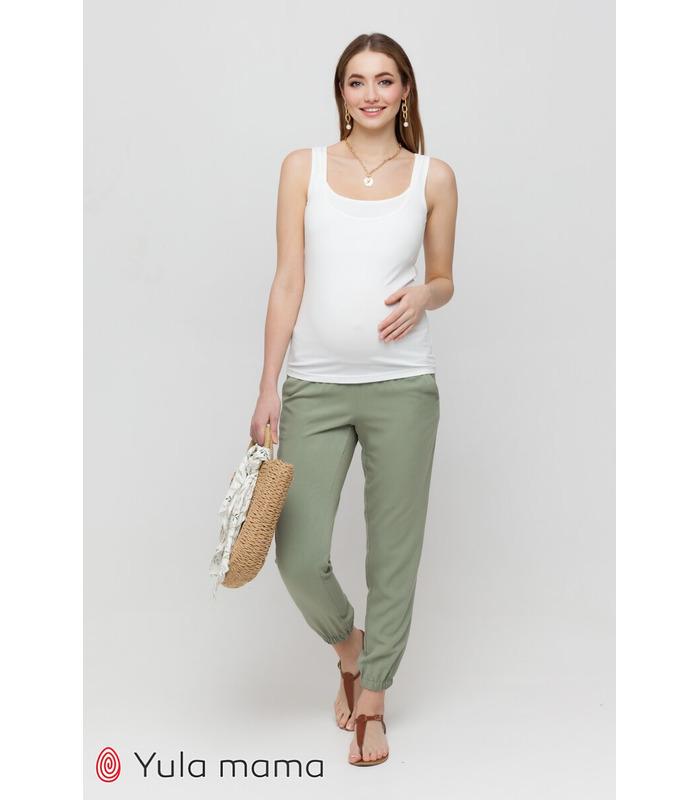 Штаны Биом PH, зеленые штаны для беременных