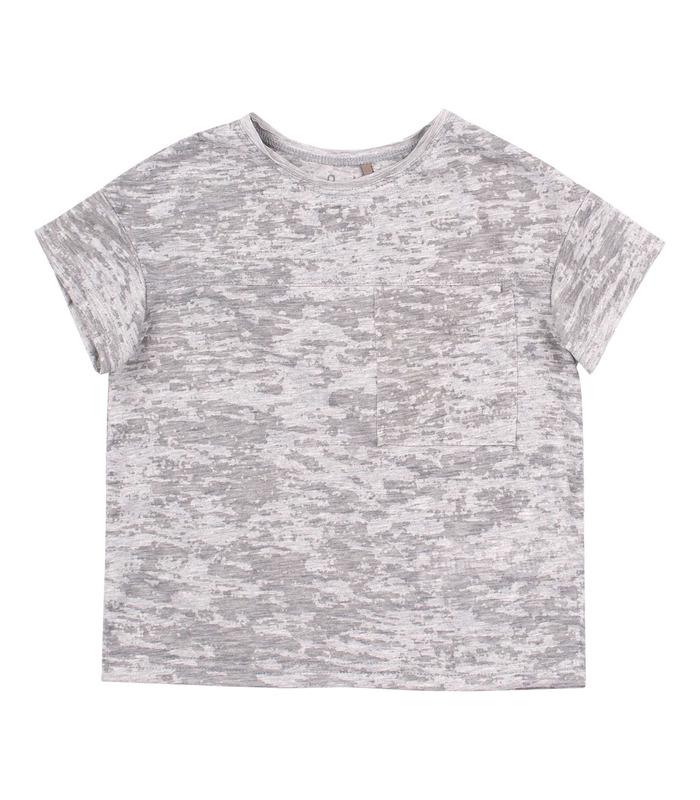 Футболка дитяча ФБ807, сіра дитяча футболка
