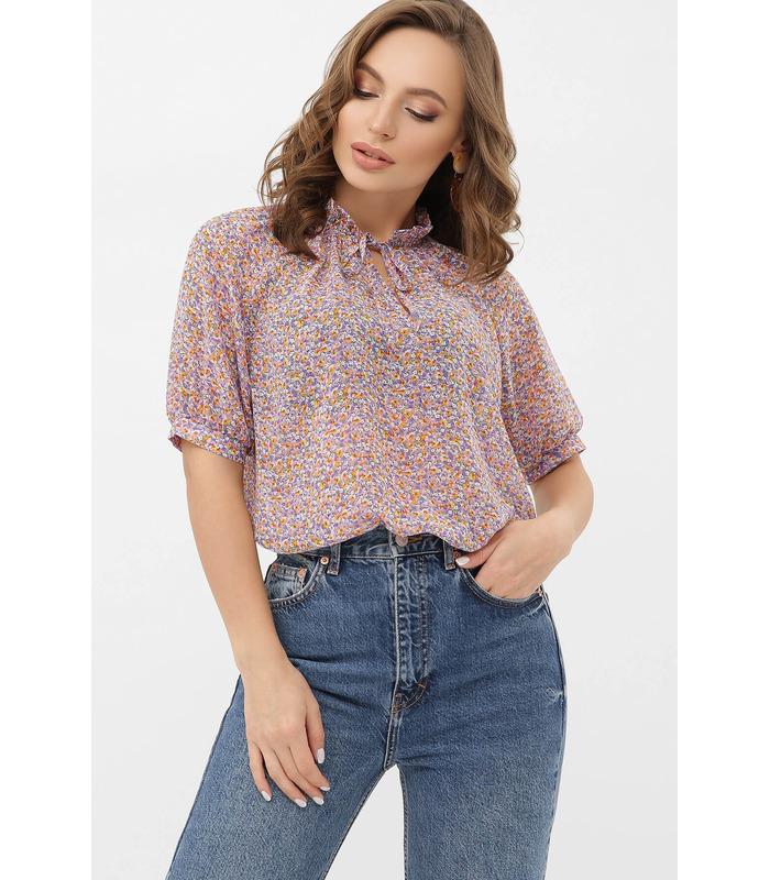 Блуза Ольві VI, блуза у квіточку